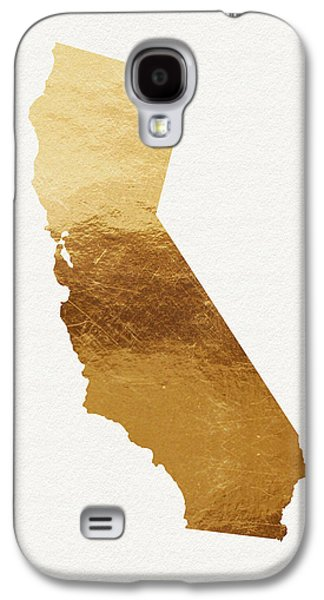 California Gold- Art By Linda Woods Galaxy S4 Case by Linda Woods