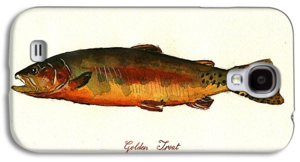 California Golden Trout Fish Galaxy S4 Case