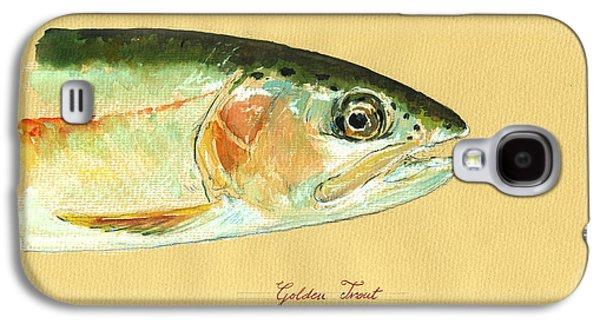 California Golden Trout Galaxy S4 Case