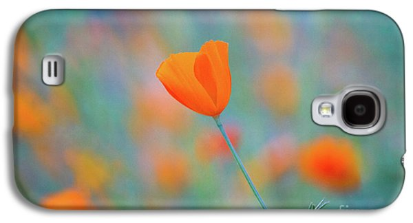 Spring Poppy Galaxy S4 Case by Anthony Bonafede