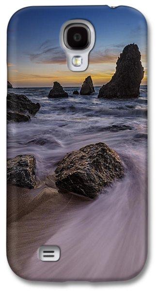 California Sunset On Rodeo Beach Galaxy S4 Case by Rick Berk