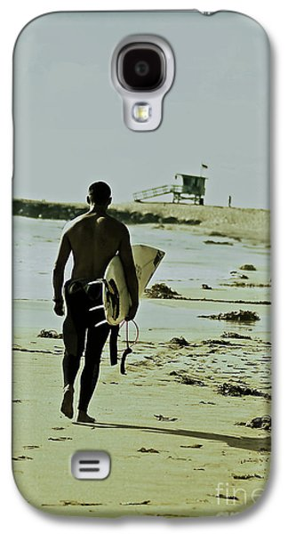 California Surfer Galaxy S4 Case by Scott Pellegrin