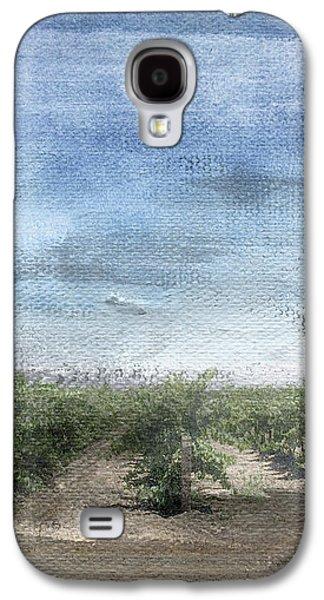 California Vineyard- Art By Linda Woods Galaxy S4 Case