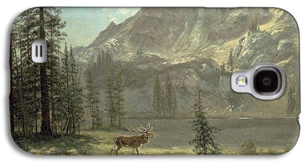 Call Of The Wild Galaxy S4 Case by Albert Bierstadt
