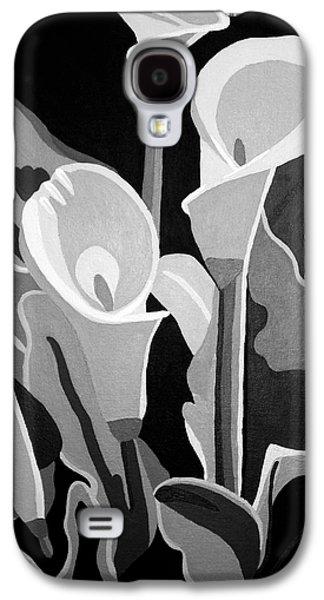 Calla Lilies Bw Galaxy S4 Case