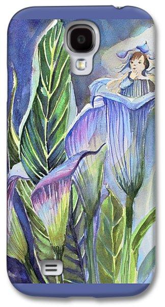 Calla Lily Fairy Galaxy S4 Case