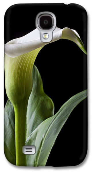 Lily Galaxy S4 Case - Calla Lily With Drip by Garry Gay