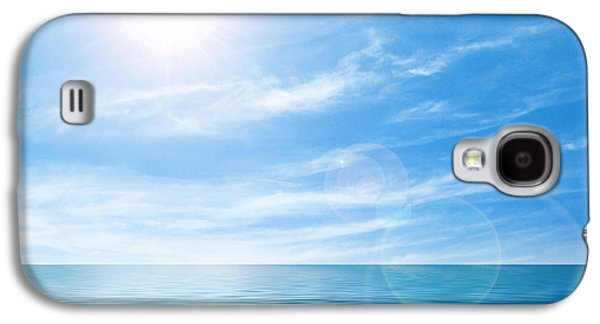 Fresh Green Galaxy S4 Cases - Calm seascape Galaxy S4 Case by Carlos Caetano