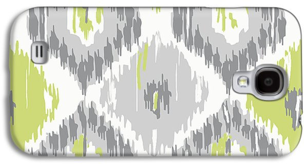 Calyx Ikat Pattern Galaxy S4 Case by Mindy Sommers