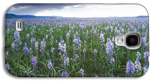 Camas Marsh 2 Galaxy S4 Case by Leland D Howard