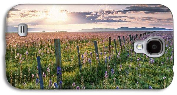 Camas Marsh 3 Galaxy S4 Case by Leland D Howard