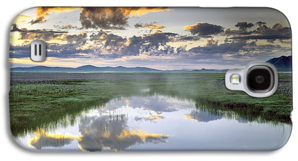Camas Marsh Galaxy S4 Case by Leland D Howard