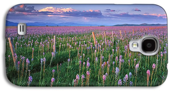 Camas Prairie Galaxy S4 Case by Leland D Howard