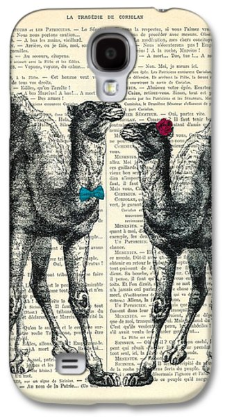 Camels Married Couple Galaxy S4 Case by Madame Memento