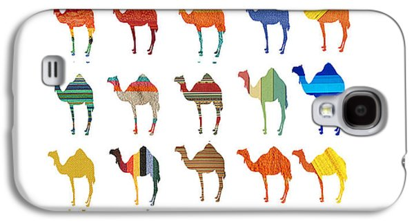 Camels Galaxy S4 Case by Art Spectrum
