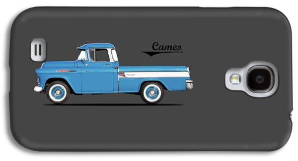 Cameo Pickup 1957 Galaxy S4 Case by Mark Rogan