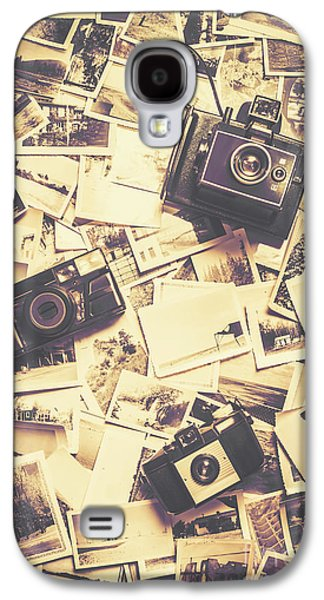 Cameras On A Visual Storyboard Galaxy S4 Case by Jorgo Photography - Wall Art Gallery
