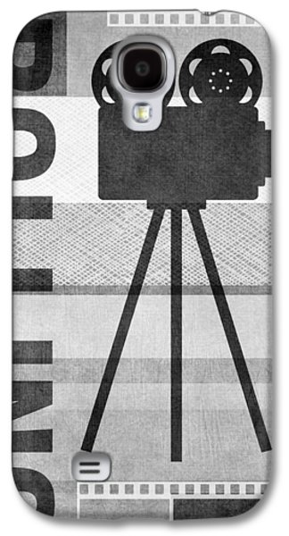 Cameras Rolling- Art By Linda Woods Galaxy S4 Case by Linda Woods