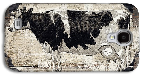 Cow Galaxy S4 Case - Campagne I French Cow Farm by Mindy Sommers