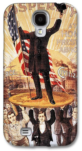 Republican Party Galaxy S4 Cases - Campaign Poster, 1896 Galaxy S4 Case by Granger