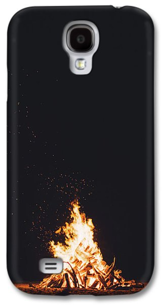 Camping Fire Galaxy S4 Case