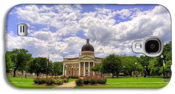 Campus Life At Southern Miss Galaxy S4 Case by JC Findley