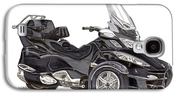 Can-am Spyder Trike Galaxy S4 Case by Jack Pumphrey