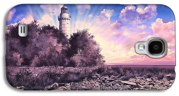 Cana Island Lighthouse Galaxy S4 Case