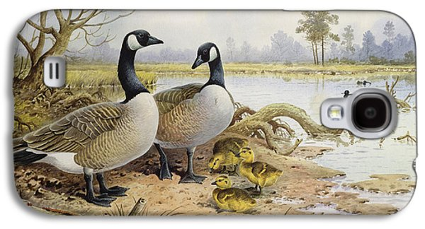 Canada Geese Galaxy S4 Case by Carl Donner