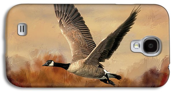 Canadian Air Galaxy S4 Case by Donna Kennedy