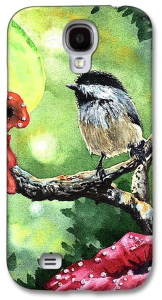 Canadian Chickadee Galaxy S4 Case by Timithy L Gordon