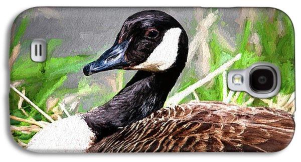 Goose Galaxy S4 Case - Canadian Goose by Tom Mc Nemar