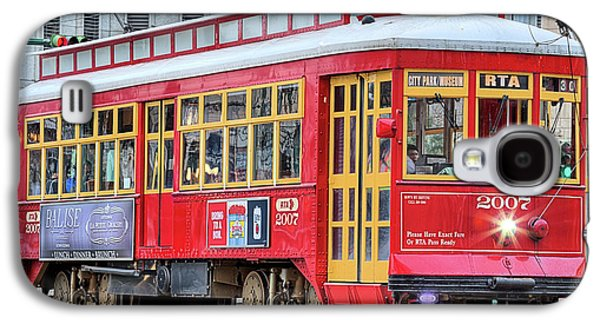 Galaxy S4 Case featuring the photograph Canal Street Streetcar by JC Findley