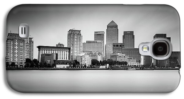 Canary Wharf, London Galaxy S4 Case by Ivo Kerssemakers