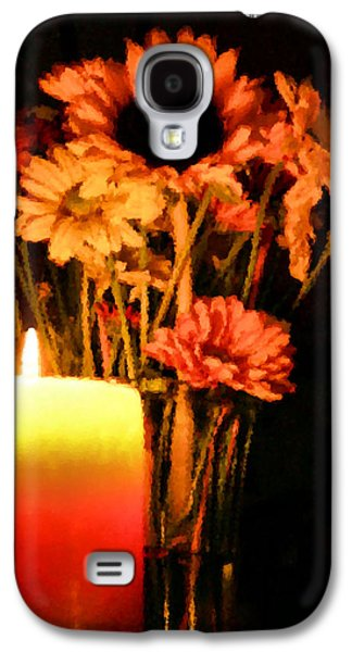 Candle Lit Galaxy S4 Case by Kristin Elmquist