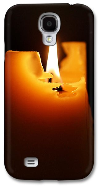 Candlelight Galaxy S4 Case by Rona Black