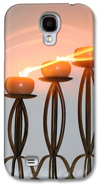 Candles In The Wind Galaxy S4 Case by Kristin Elmquist