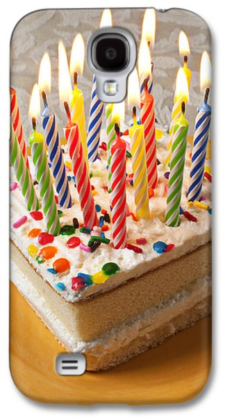 Candles On Birthday Cake Galaxy S4 Case