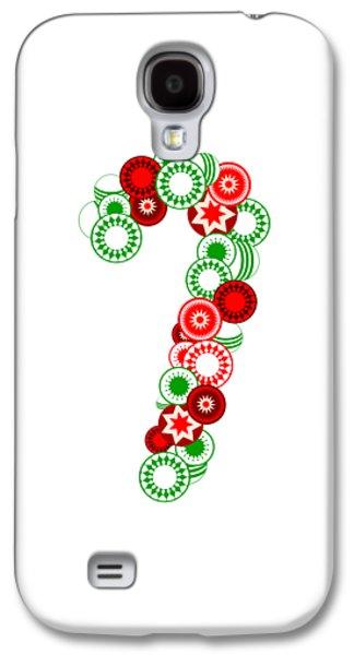 Candy Cane - Christmas Ornaments - Holiday Season Galaxy S4 Case