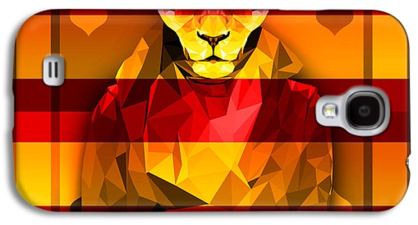 Candy Lioness Galaxy S4 Case by Gallini Design