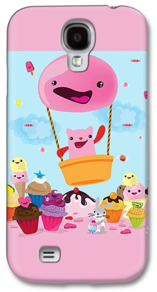 Candy World Galaxy S4 Case by Seedys World