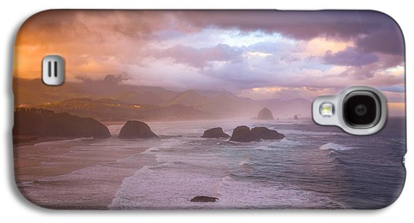 Cannon Beach Sunrise Storm Galaxy S4 Case