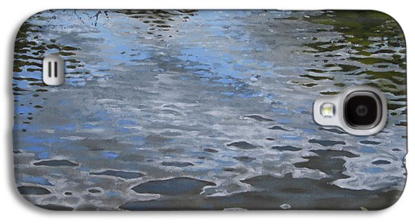 Canoe Painting 9 Galaxy S4 Case by Jason Sawtelle