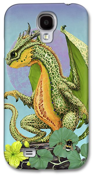 Cantaloupe Dragon Galaxy S4 Case by Stanley Morrison