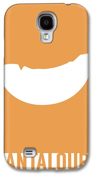 Cantaloupe Food Art Minimalist Fruit Poster Series 018 Galaxy S4 Case by Design Turnpike