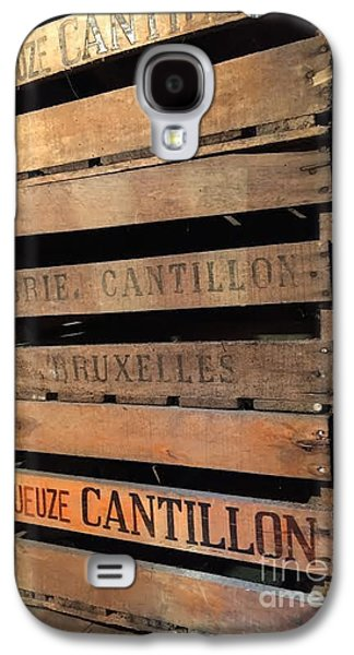 Breweries Galaxy S4 Case - Cantillon Crates by Evan N