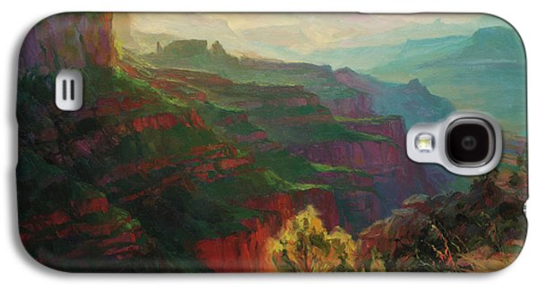 Grand Canyon Galaxy S4 Case - Canyon Silhouettes by Steve Henderson
