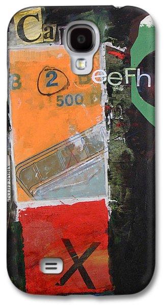 Cap 10 Beefh Art   -m- Galaxy S4 Case by Cliff Spohn