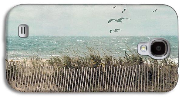 Cape Cod Beach Scene Galaxy S4 Case by Juli Scalzi