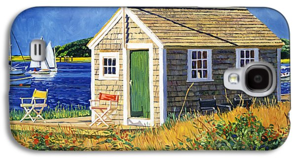 Cape Cod Boat House Galaxy S4 Case by David Lloyd Glover